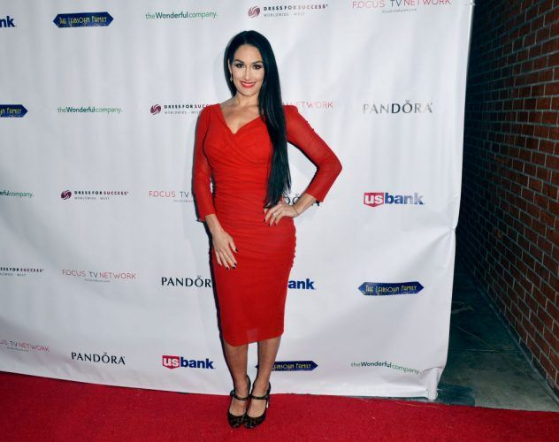 Nikki Bella attends the Dress For Success Worldwide-West Seventh Annual Shop