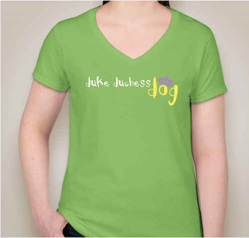 The 'Duke Duchess Dog' T-shirt.