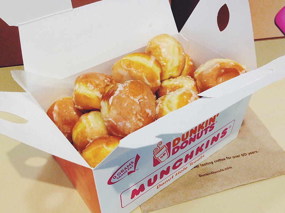 Dunkin Donuts Munchkins