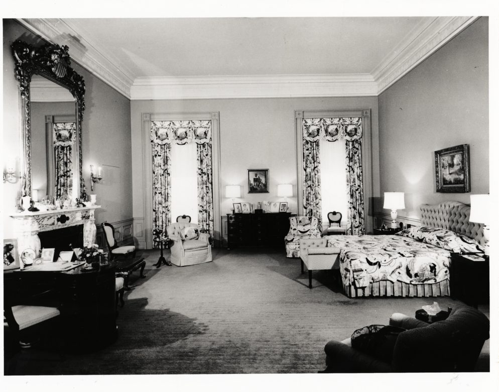Eisenhower white house decoration