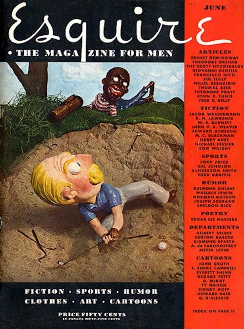 Esquire magazine controversial cover.
