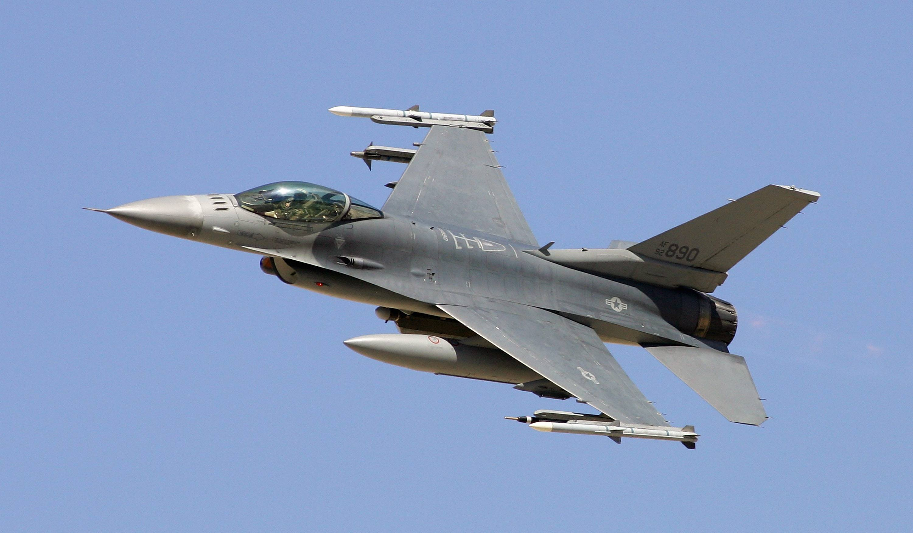 F16 fighter jet training in nevada