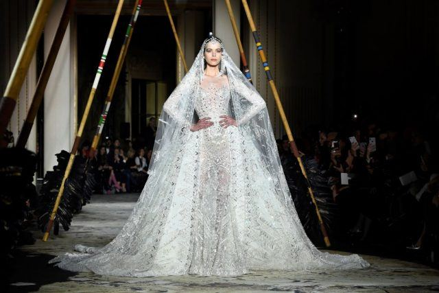 2018 spring/summer Haute Couture collection fashion show