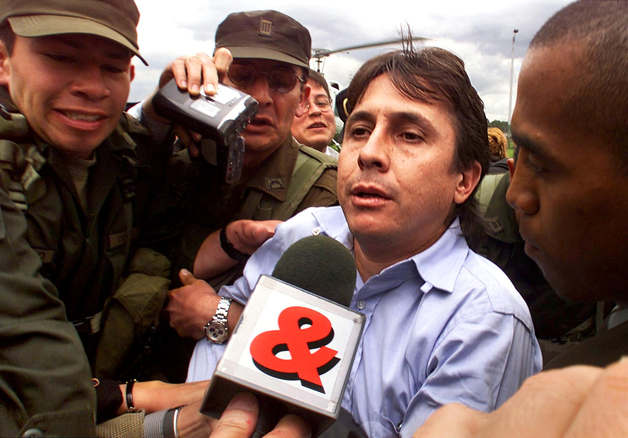 Prominent Colombian drug trafficker Fabio Ochoa Vasquez