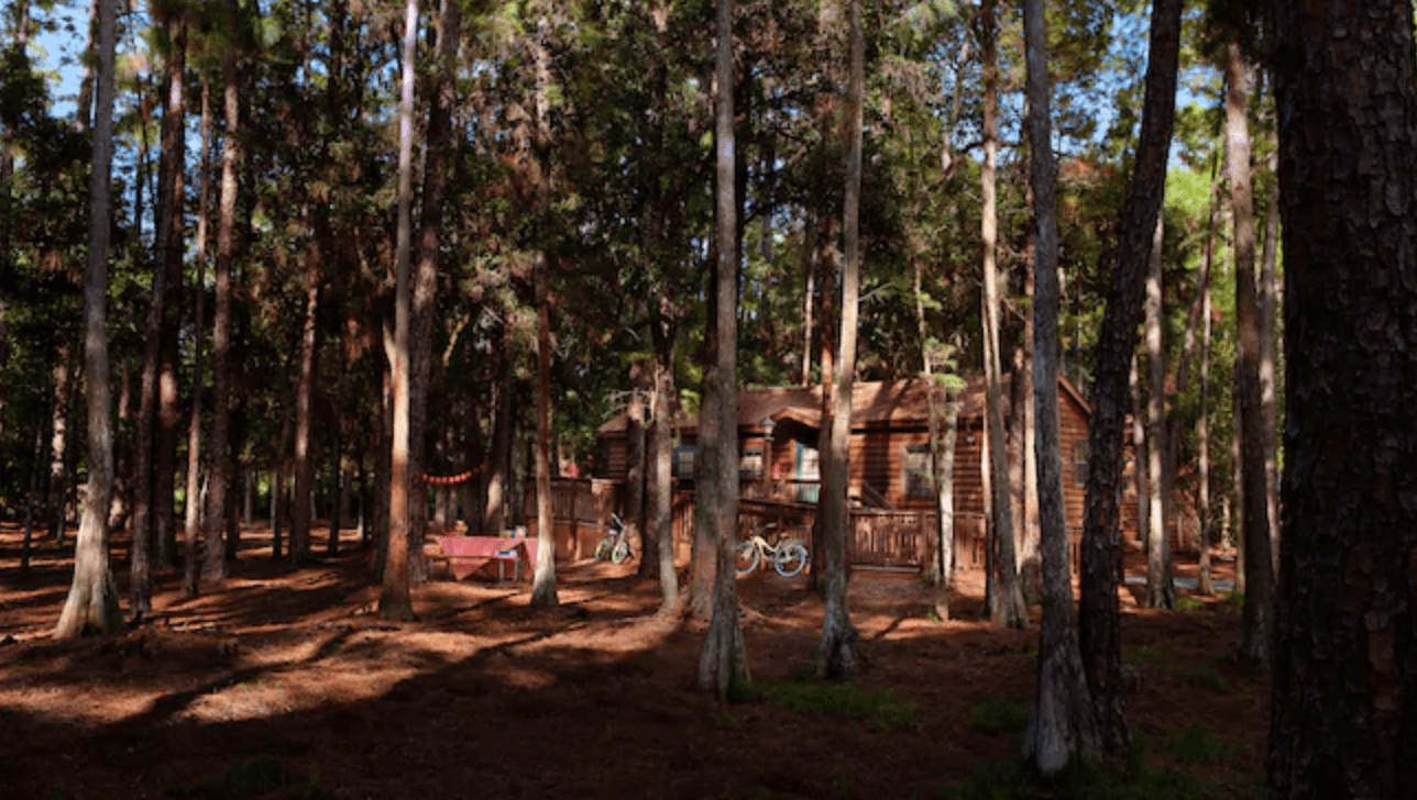 Fort Wilderness Camp Disney cabin