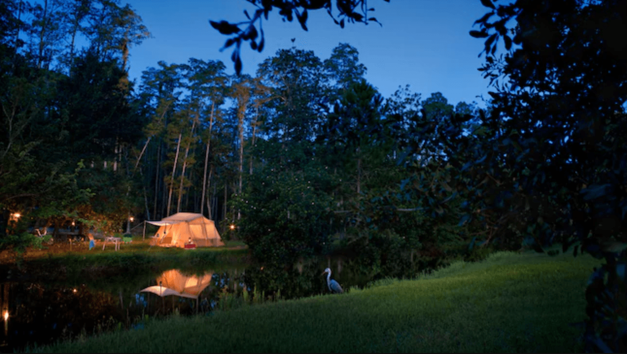Fort Wilderness Camp Disney tent
