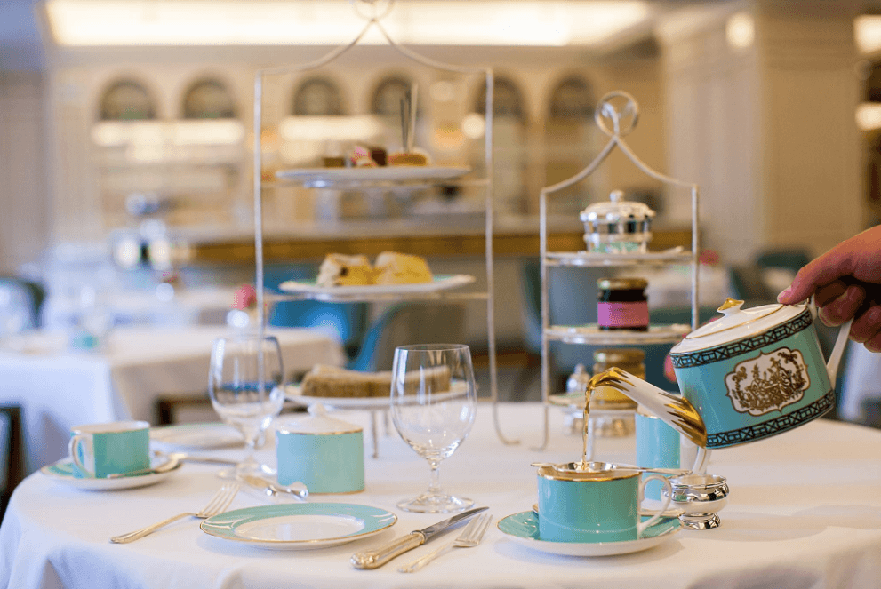 Fortnum & Mason, the inside of the shop
