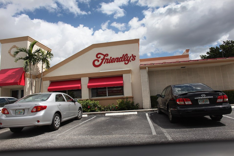 A Friendly's Ice Cream Corp restaurant