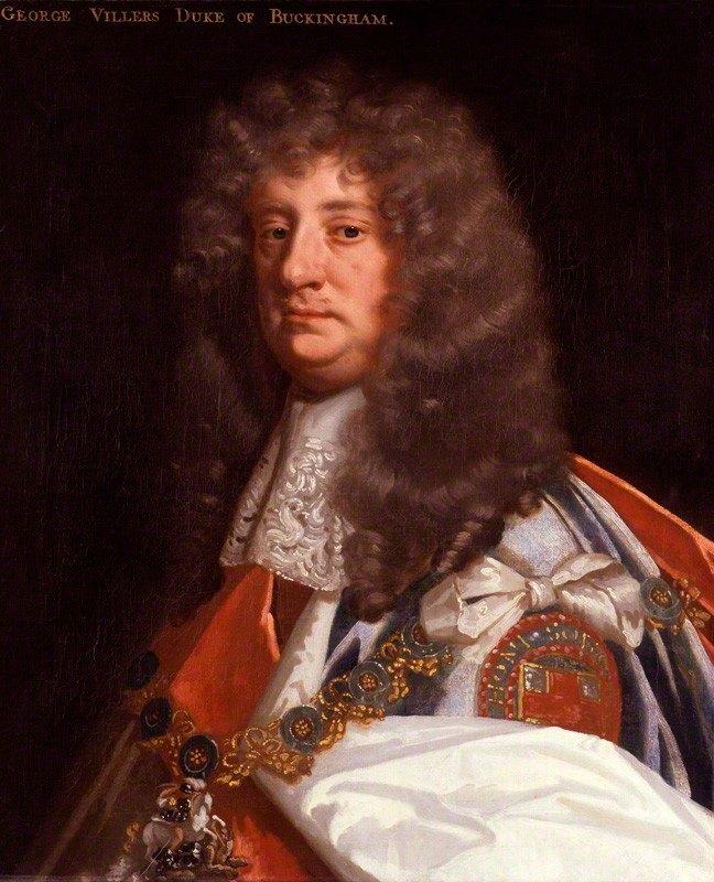 George Villiers second duke of buckingham