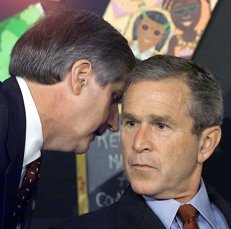 resident George W. Bush