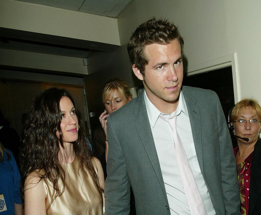 Alanis Morrisette and Ryan Reynolds