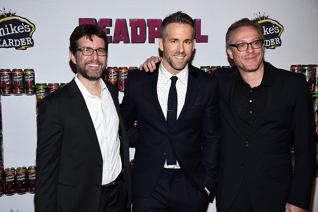 Rhett Reese, Ryan Reynolds, and Paul Wernick