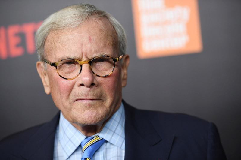 "Tom Brokaw attends the ""Five Came Back"" world premiere at Alice Tully Hall at Lincoln Center on March 27, 2017 in New York City."