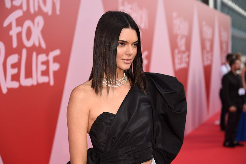 CANNES, FRANCE - MAY 21: Kendall Jenner attends the Fashion for Relief event during the 70th annual Cannes Film Festival at Aeroport Cannes Mandelieu on May 21, 2017 in Cannes, France. (Photo by Antony Jones/Getty Images)