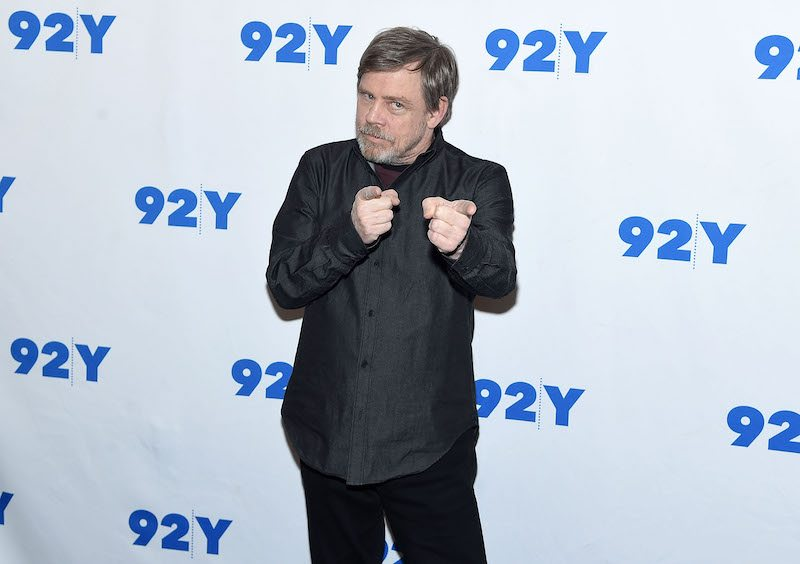 NEW YORK, NY - MARCH 23: Mark Hamill attends the 92nd Street Y Present: Mark Hamill And Frank Oz at 92nd Street Y on March 23, 2018 in New York City. (Photo by Jamie McCarthy/Getty Images)