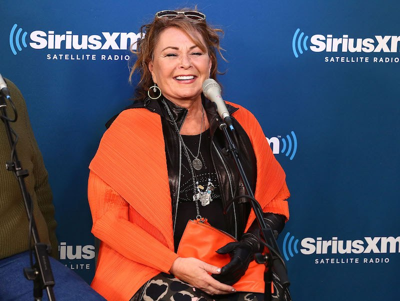 NEW YORK, NY - MARCH 27: Actress Roseanne Barr speaks during SiriusXM's Town Hall with the cast of Roseanne on March 27, 2018 in New York City. (Photo by Astrid Stawiarz/Getty Images for SiriusXM)