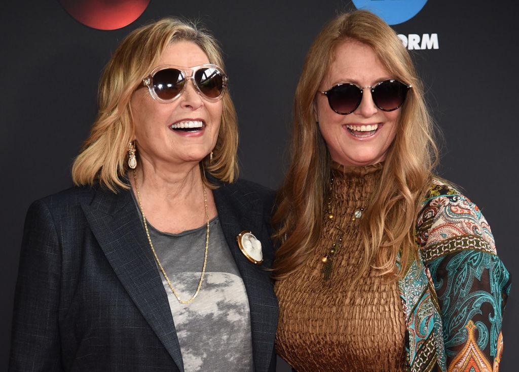 Roseanne Barr and Brandi Brown