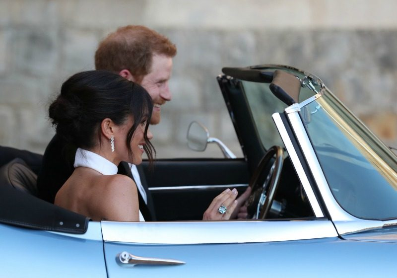 Meghan Markle and Prince Harry reception
