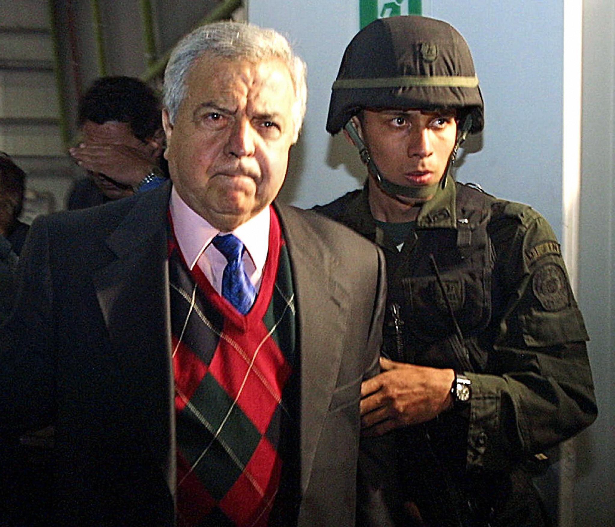 Gilberto Rodriguez Orejuela, 63, a leader of the Cali drug cartel
