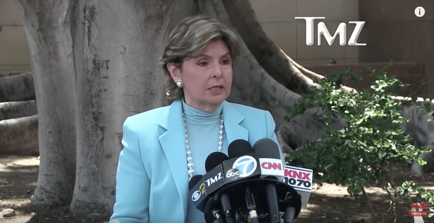 Gloria Allred on TMZ talking about the Chris Brown case