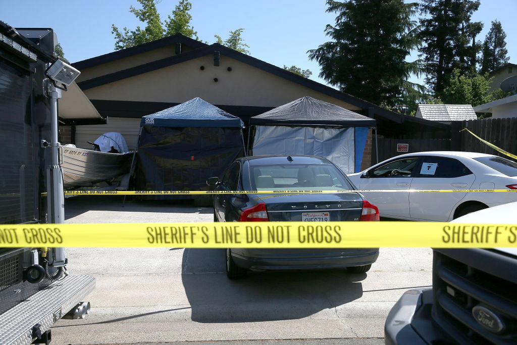 Golden State Killer suspect's home