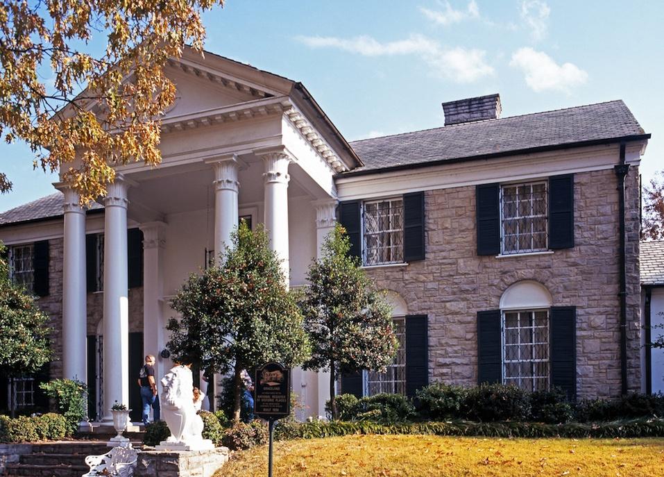 Graceland, the home of Elvis Presley