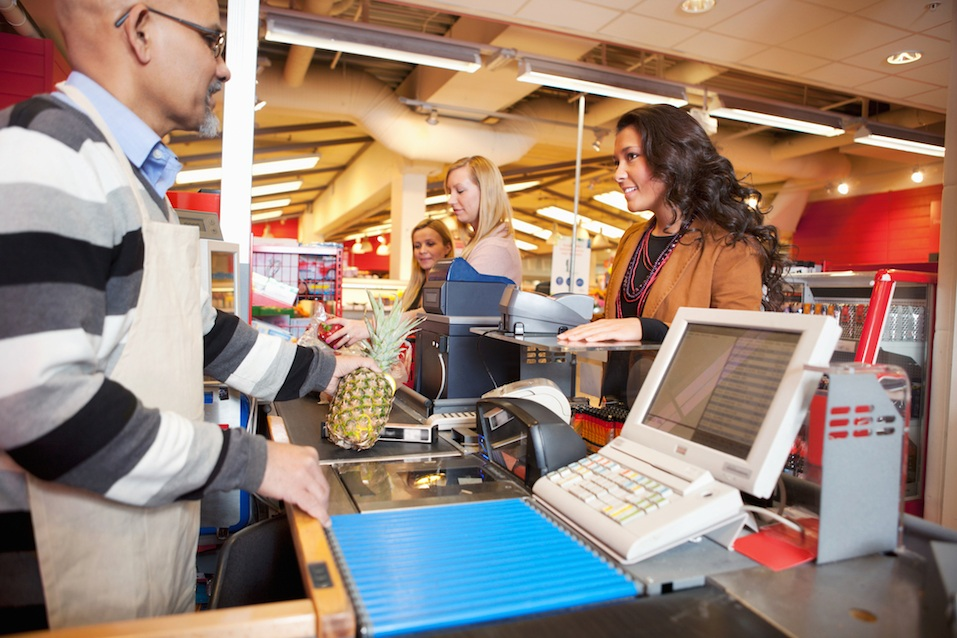 Grocer Store Checkout multiple queues