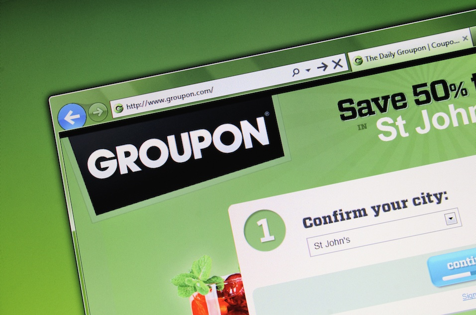 Groupon Website