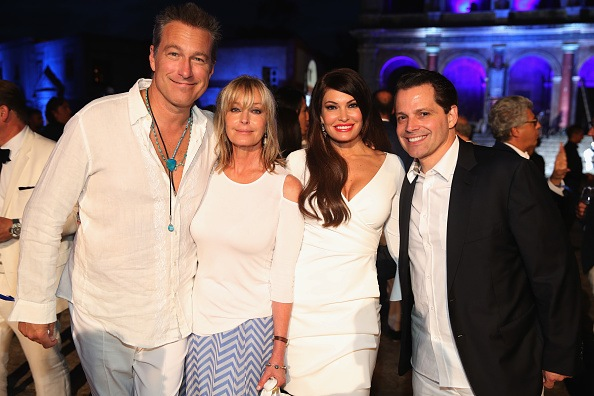 (L-R) John Corbett, Bo Derek, Kimberly Guilfoyle and Anthony Scaramucci attend the Closing Night Gala