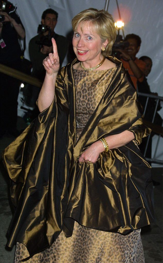 Hillary Rodham Clinton attends The Costume Institute Gala
