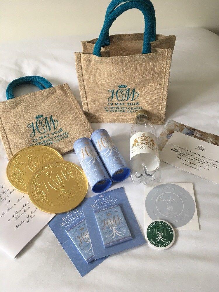 Harry Meghan gift bag