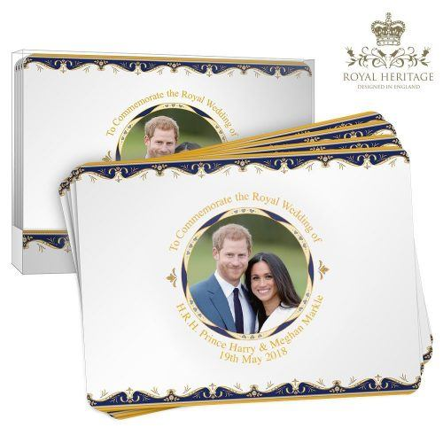 Harry and Meghan placemat