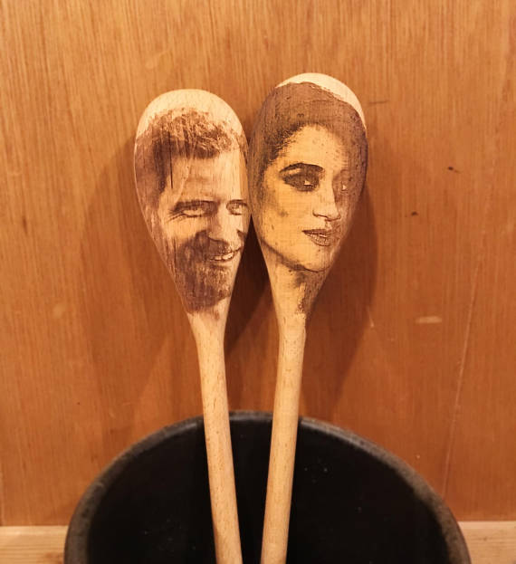 Harry and Meghan spoons