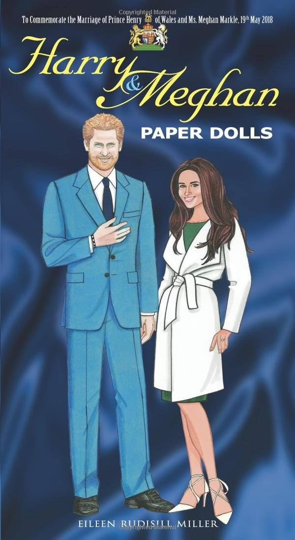Harry and meghan paper dolls