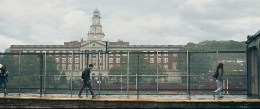 Midtown high school in Spider-Man: Homecoming