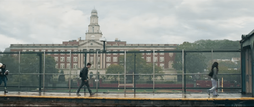 Midtown high school in Spider-Man: Homecoming