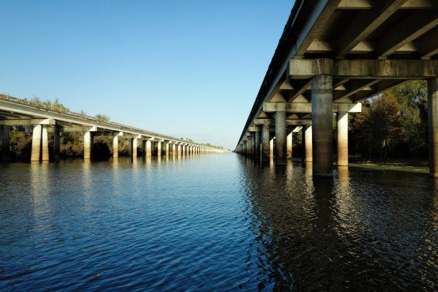 The Atchafalaya Basin Bridge