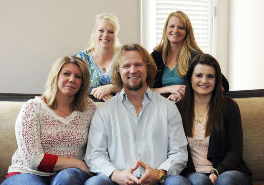 The Brown family from Sister Wives
