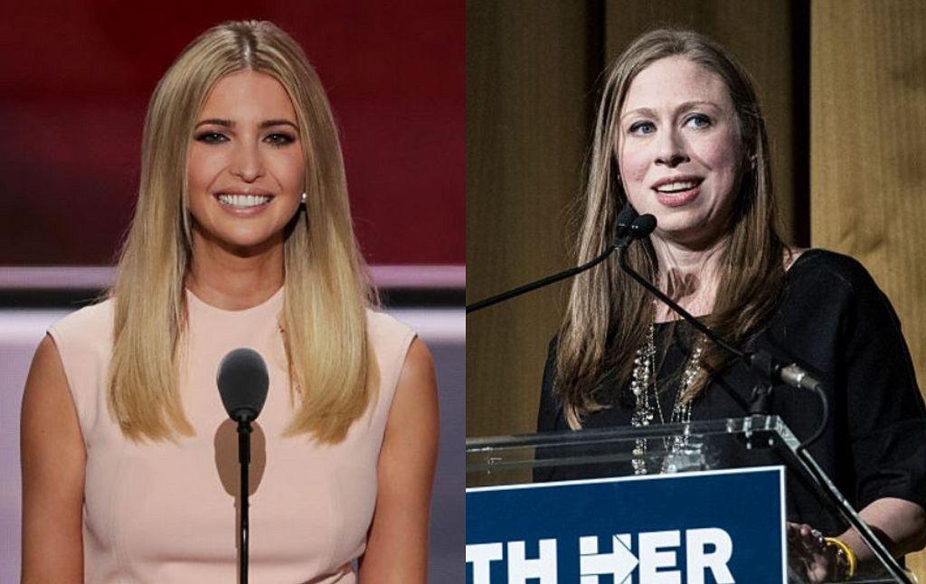 Ivanka Trump, Chelsea Clinton