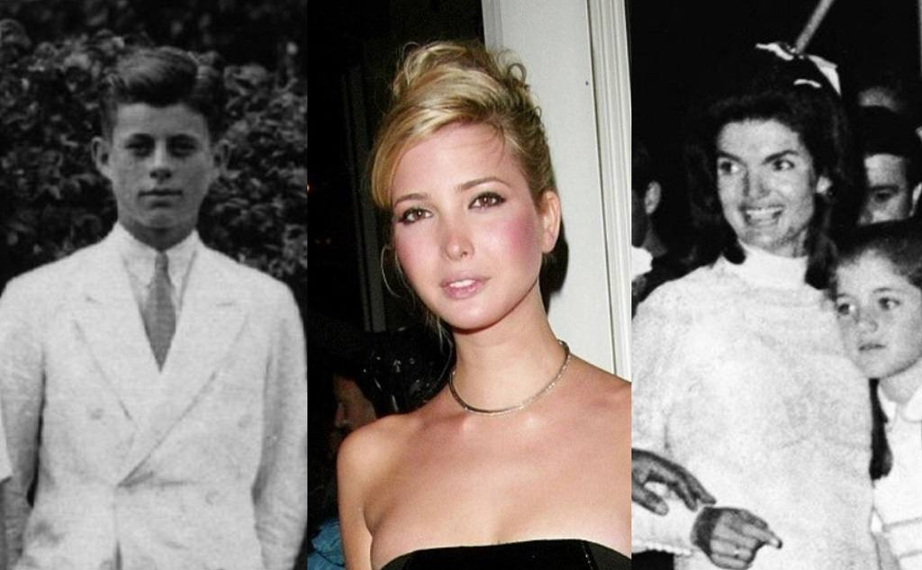 JFK, Ivanka Trump, Jackie Kennedy