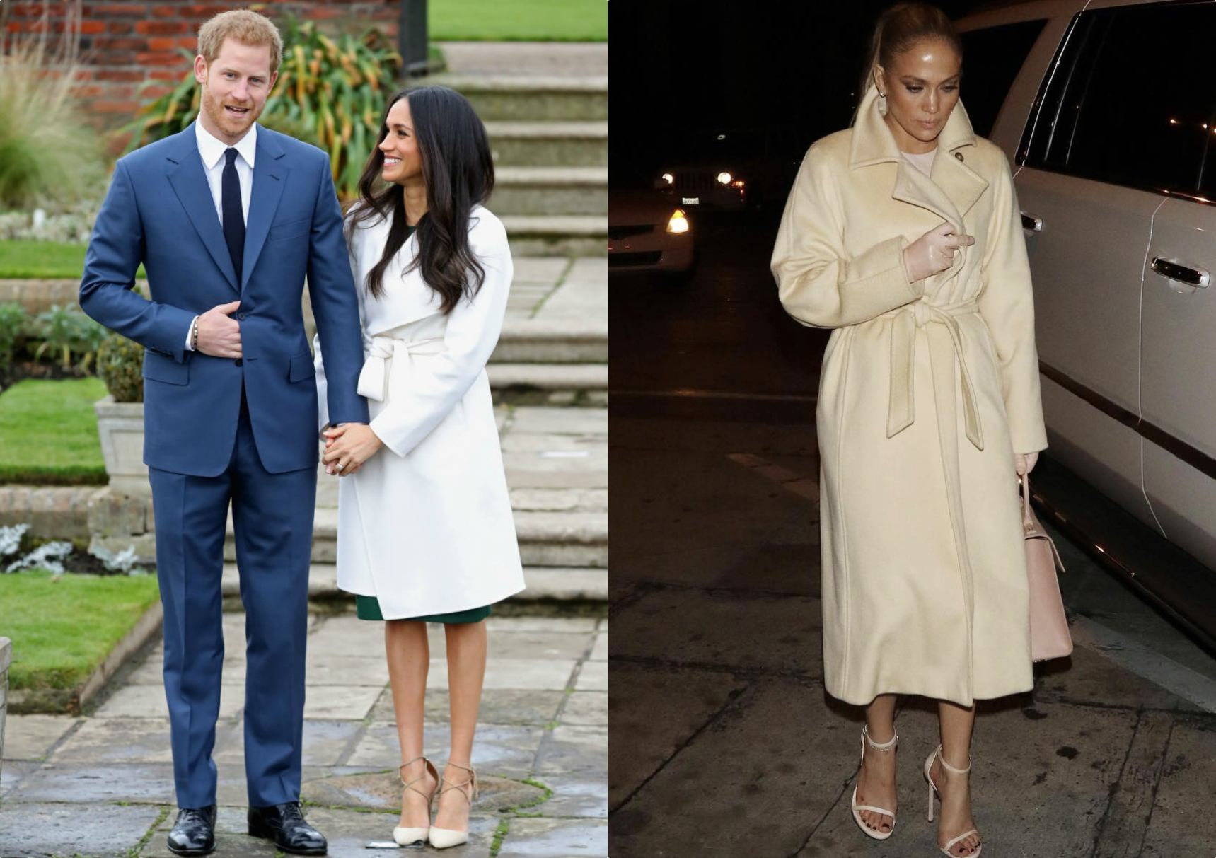 JLO Meghan Markle coat