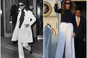These Photos of Melania Trump Reveal the Way She's Following in Jacqueline Kennedy's Footsteps