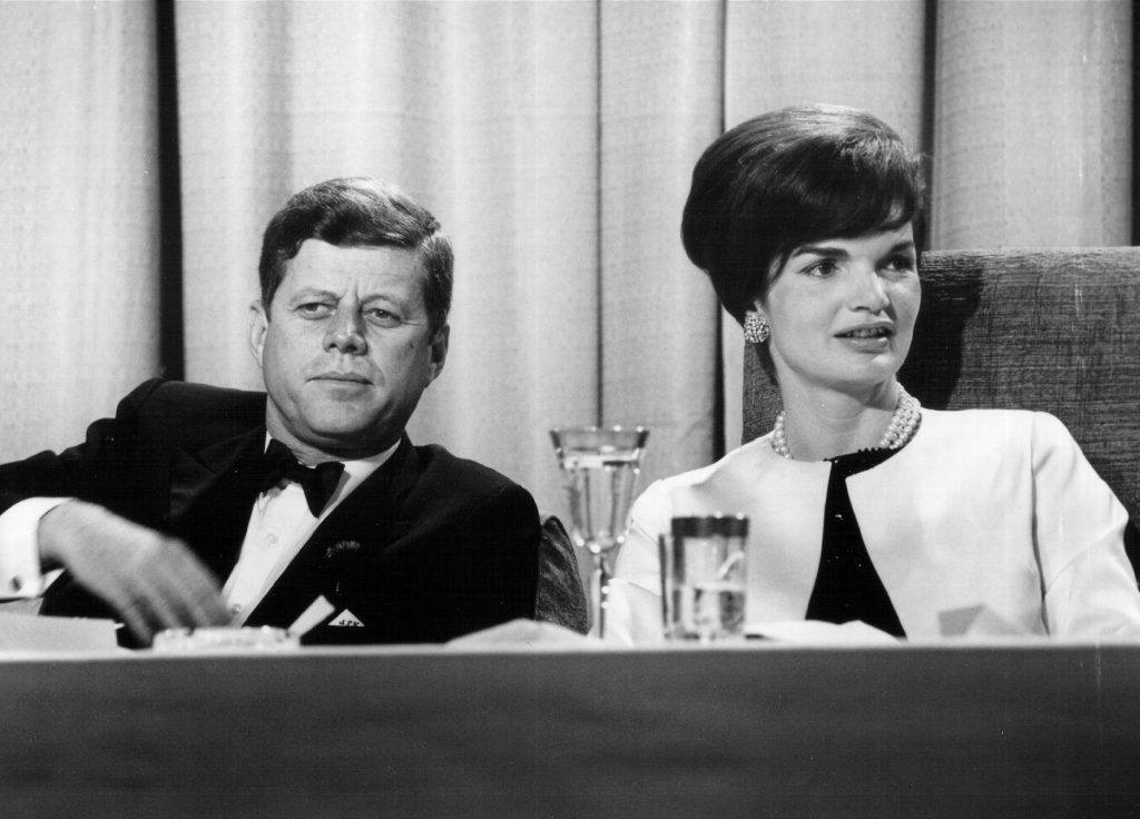 President John F. Kennedy and first lady Jackie Kennedy