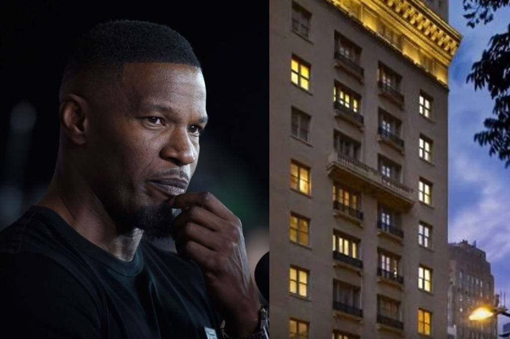 Jamie Foxx stayed at the AKA Hotel in Philadelphia when the incident occurred.