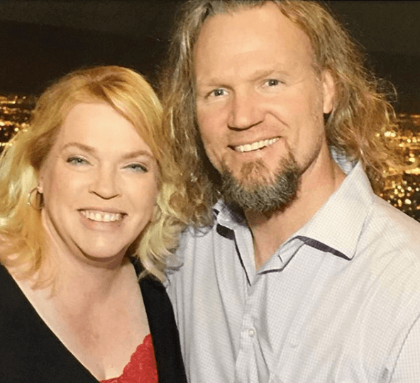 "Janelle Brown from ""Sister Wives"" with Kody Brown"