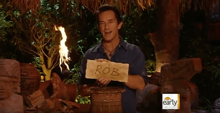 "Jeff Probst from ""Survivor"""