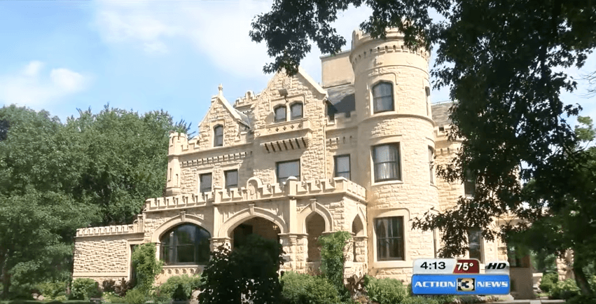 Joslyn Castle in Omaha, Nebraska