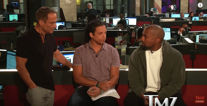 Kanye West's interview on TMZ