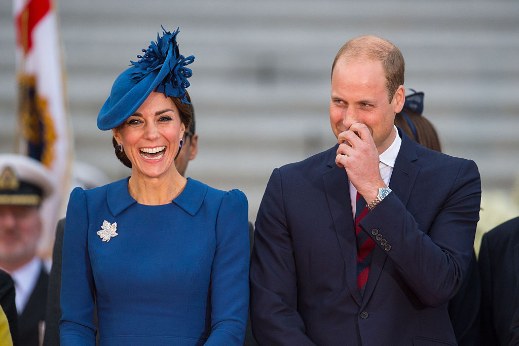 Kate and William tour Canada