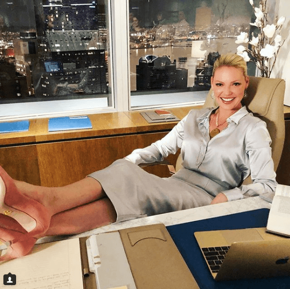 "Katherine Heigl on ""Suits"""